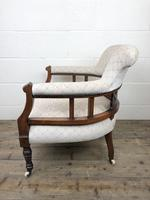 Pair of Victorian Mahogany Tub Chairs (11 of 17)