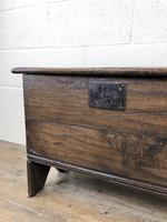 Small 18th Century Joined Oak Coffer (5 of 18)
