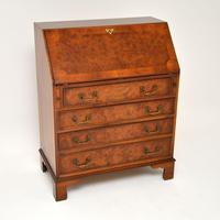 Antique Burr Walnut  Writing  Bureau (11 of 12)