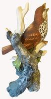 A Porcelain Figure of a Woodthrush, Andrea by Sardek (6 of 7)