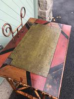 Antique Lacquered Bamboo Desk (8 of 11)