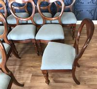 Set of 10 Victorian Balloon Back Chairs (9 of 10)