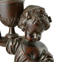 Pair of Bronze & Marble Figures (4 of 8)