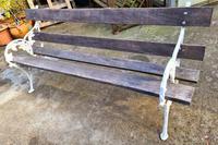 19th Century Scottish Garden Bench (7 of 10)