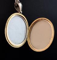 Victorian diamond locket, 9ct gold (6 of 11)