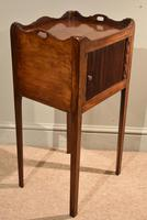 Matched Pair of Mahogany Bedside Cabinets / Tables (9 of 9)