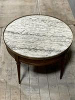 French Marble Top Coffee or Lamp Table (14 of 17)