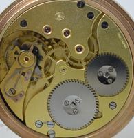 1929 9K Gold Full Hunter Pocket Watch, Stauffer IWC (3 of 5)