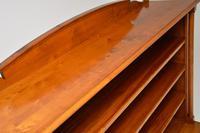 Antique Swedish Biedermeier Satin Birch Bookcase (5 of 12)