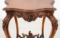Pretty French Walnut Occasional Table (6 of 10)