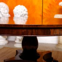 William IV Rosewood Breakfast Table Tilt Top Centre Dining Table (12 of 12)