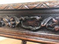 Antique Carved Oak Table (10 of 10)