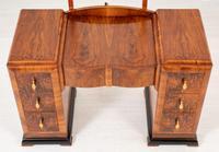 Art Deco Walnut Dressing Table (8 of 8)