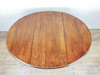 Antique Oak Gateleg Table (5 of 11)