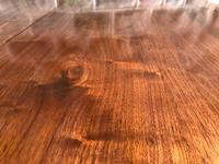 Antique Walnut Wind Out Extending Dining Table (13 of 13)