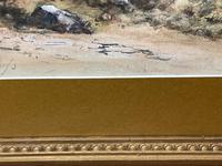 19th Century Scottish Highlands Watercolour Loch Kishorn By William Leighton Leitch (27 of 36)