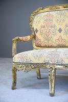 Louis XV Style Gilt Sofa (5 of 12)