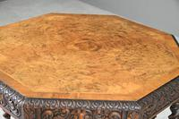 Victorian Octagonal Centre Table (9 of 12)