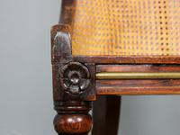 19th Century Victorian Caned Occasional Chair (5 of 9)