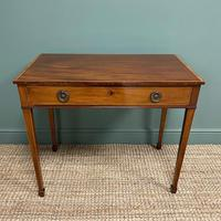 Stunning Georgian Mahogany Antique Side Table (2 of 8)