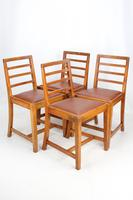 Oak Refectory Dining Table & 4 Chairs Manner of Heals (10 of 13)