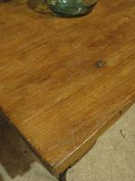 Industrial Vintage Folding Trestle Dining Table with Metal Legs & Reclaimed Top (4 of 17)