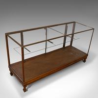 Antique Haberdashery Cabinet, Mahogany, Glass, Museum Showcase, Edwardian, 1910 (9 of 9)
