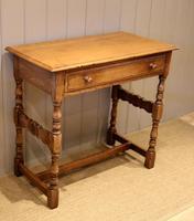 Light Oak Hall Table (2 of 11)