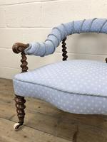 Victorian Mahogany Barley Twist Chair (5 of 10)