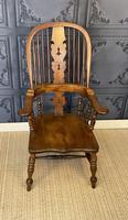 Victorian Windsor Nursing Chair