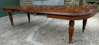 Victorian 3 Leaf Extending Dining Table Seats 10 (9 of 13)