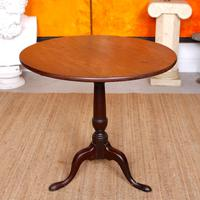 Georgian Tripod Table Tilt Top Mahogany Folding (3 of 9)