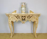 Early 19th Century Italian Console Table Sienna Marble Top (9 of 9)