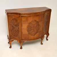 Antique Burr Walnut Cabinet / Sideboard (2 of 11)
