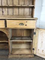 Large Victorian Antique Pine Dresser (13 of 17)