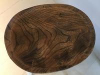 Pair of Oval Top Stools (2 of 3)