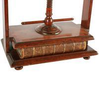 18th Century Fruit Wood Book Press (4 of 8)