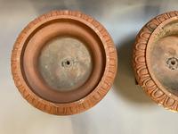 Pair of Terracotta Campana Garden Urns (2 of 13)