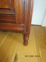 Edwardian Red Walnut Bedside Cabinet (2 of 8)