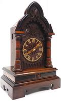 Rare Junghans Cuckoo Mantel Clock – German Black Forest Mantle Clock (3 of 12)