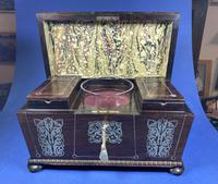 Regency Rosewood Twin Canister Tea Caddy (9 of 17)