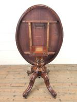 Antique Mahogany Centre Table (4 of 11)