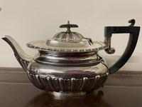 Edwardian William Aitken Solid Silver Tea & Coffee Set Birmingham 1903 (7 of 14)