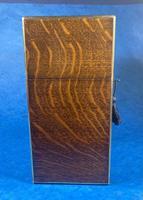 Victorian Brassbound Oak Decanter Box (15 of 20)