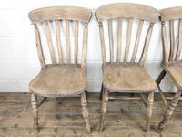 Four 19th Century Farmhouse Kitchen Chairs (4 of 12)