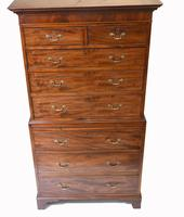 Georgian Chest on Chest Mahogany Antique 1820 (2 of 16)