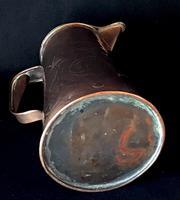 Arts & Crafts Copper Repousse Jug (2 of 5)