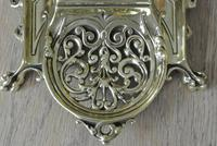 Fine William Tonks & Sons Marine Brass Inkwell c.1885 (7 of 7)