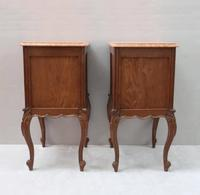Pair of Early 20th Century Continental Oak Bedside Cabinets (7 of 8)