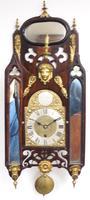 Very Rare English Fusee 5 Inch Dial Wall Clock Mahogany Gothic Ormolu Wall Clock by James Parker Cambridge (2 of 12)